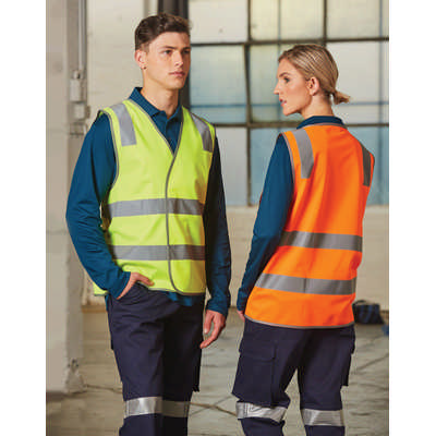 Safety Vest With Shoulder Tapes (SW43_WIN)