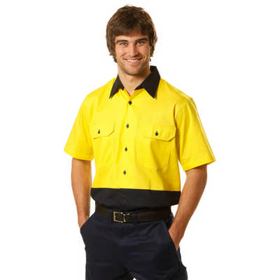 Short Sleeve Safety Shirt (SW57_WIN)