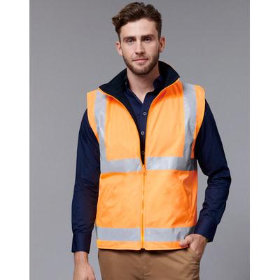 Unisex Vic Rail Safety Vest (SW76_WIN)