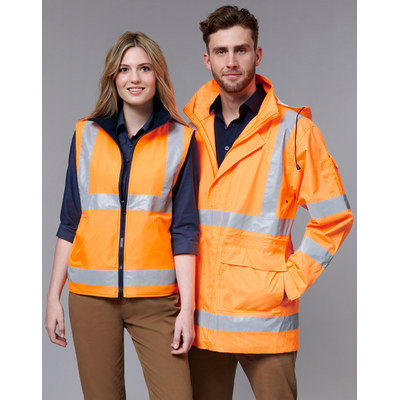 Unisex Vic Rail Three-In-One Safety Jacket (SW77_WIN)
