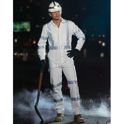 Mens Biomotion Nightwear Coverall With X Back Tape Configuration
