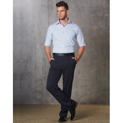 Mens Permanent Press Pants Regular Size (WP01R_WIN)