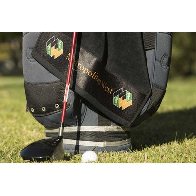 Elite Small Golf towel with hook and grommet