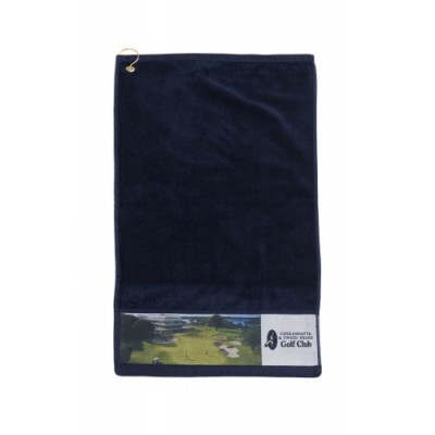 PhotoPlus Golf towel PRINTED & with hook & grommet in corner (PP145CP_SIM)