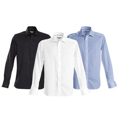 Green Bow 01 Mens - Business Shirts (GreenBowMens_HARV)