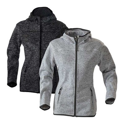 Santa Ana Structured Fleece Hoodie, ladies