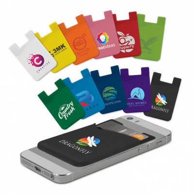 Silicone Phone Wallet (107627_TNZ)