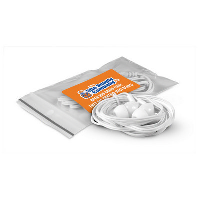Earbuds - (printed with 4 colour(s)) 107651_TNZ