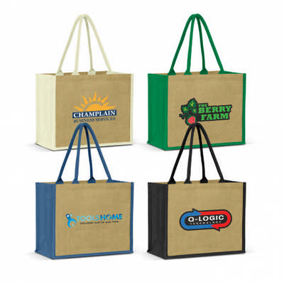 Torino Jute Tote Bag (108038_TNZ)