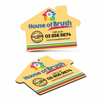 Fridge Magnet 70 x 50mm - House Shape  (112307_TNZ)