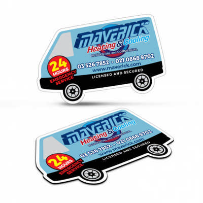 Fridge Magnet 90 x 55mm - Van Shape (112308_TNZ)