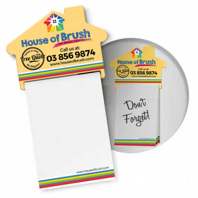 Magnetic House Memo Pad (113367_TNZ)