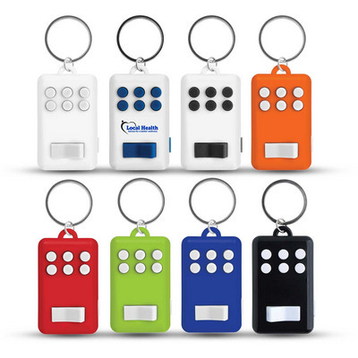 Fun Key Ring With Light