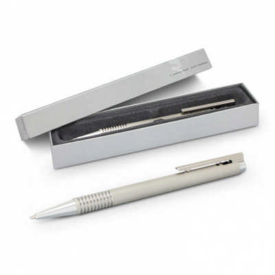Lamy Logo Pen - Brushed Steel
