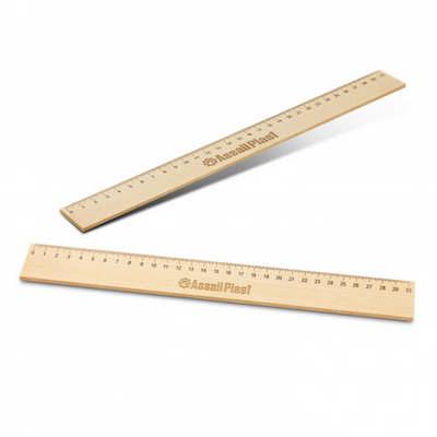 Wooden 30cm Ruler (117337_TNZ)
