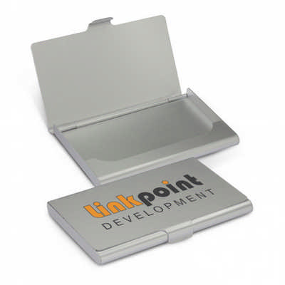 Aluminium Business Card Case - (printed with 1 colour(s)) 100743_TRDZ