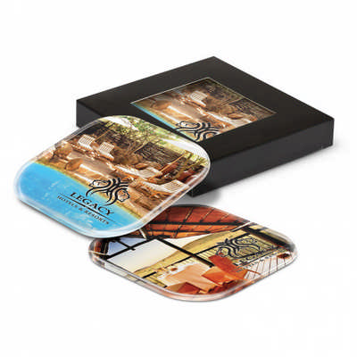 Clarion Coaster Set - (printed with 1 colour(s)) 107096_TRDZ