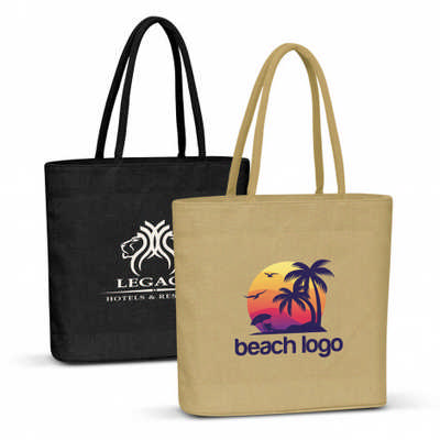 Carrera Jute Tote Bag - (printed with 1 colour(s)) 108035_TRDZ