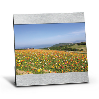 5in X 7in Aluminum Photo Frame - (printed with 1 colour(s)) 109426_TRDZ