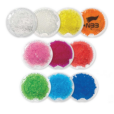 Round Gel Beads Hot/Cold Pack - Small (109619_TRDZ)