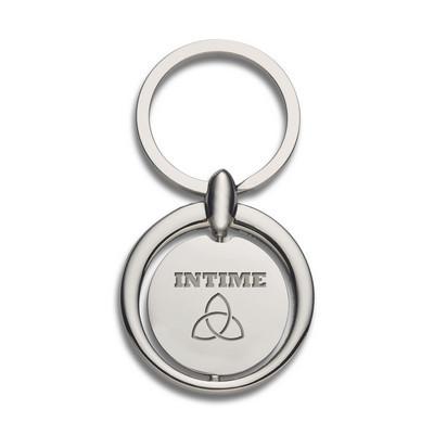 Circular Metal Key Ring