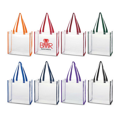Clear Tote Bag - (Includes Decoration) 111385_TRDZ