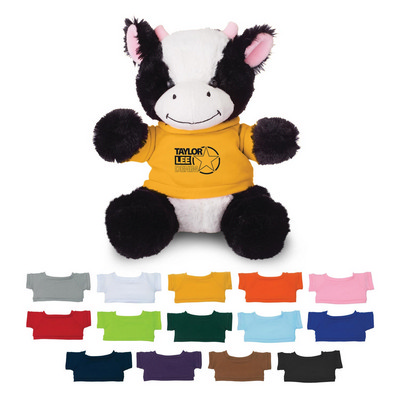 Large Cuddly Cow - (printed with 1 colour(s)) 111554_TRDZ