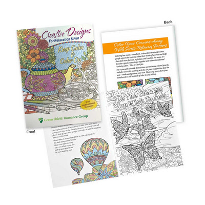 Adult Colouring Book - Includes Decoration 113471_TRDZ
