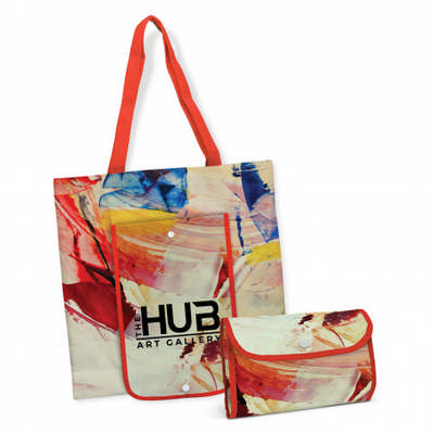 Georgia Compact Cotton Tote Bag - (printed with 4 colour(s)) 113568_TRDZ