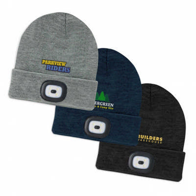 Headlamp Beanie - Includes Decoration 113964_TRDZ