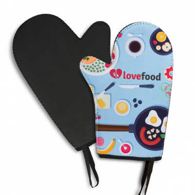 Neoprene Oven Mitt - (printed with 4 colour(s)) 115763_TRDZ