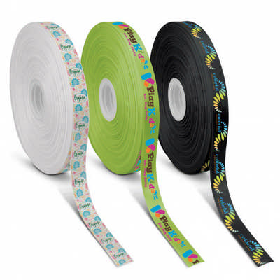 Personalised Ribbon 20mm - Full Colour - Includes Decoration 117023_TRDZ