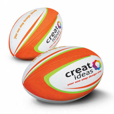 Rugby Ball Junior Pro - (printed with 1 colour(s))