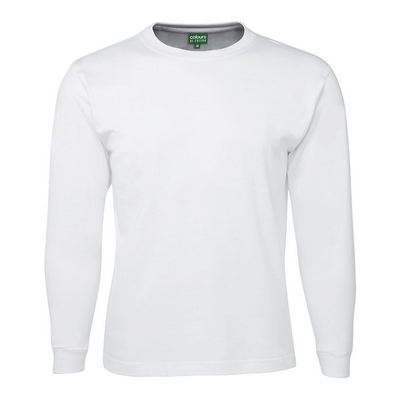 C OF C KIDS L/S TEE WHITE 4-10 (1LS-D_JBS)