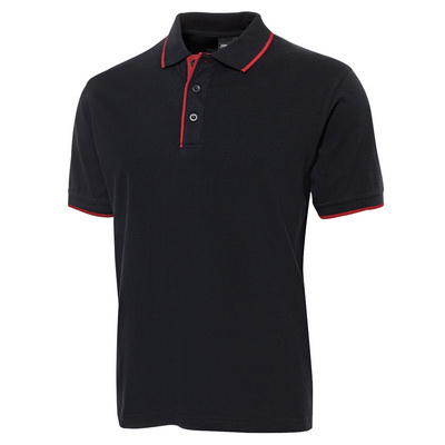 JBs Cotton Tipping Polo (2CT-S-2XL_JBS)