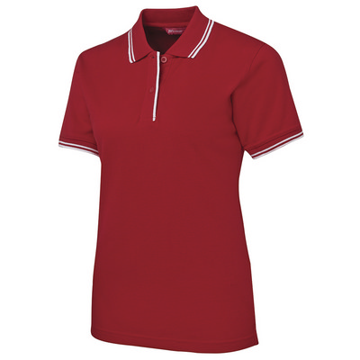 JBs Ladies Contrast Polo (2LCP-08-24_JBS)