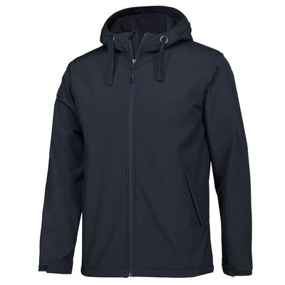 Pdm Water Resistant Hooded Softshell Jacket (3WSH-2XS-5XL_JBS)