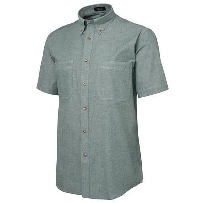 JBs S/S Cotton Chambray Shirt (4CFS-S-4XL_JBS)