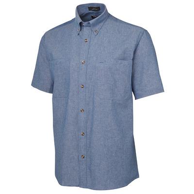 JBs S/S Cotton Chambray Shirt (4CUS-S-4XL_JBS)