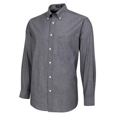 JBs L/S Fine Chambray Shirt  (4FC-S-5XL_JBS)