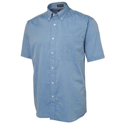 JBs S/S Fine Chambray Shirt  (4FCSS-S-5XL_JBS)