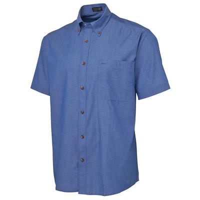 JBs S/S Indigo Chambray Shirt (4ICS-S-5XL_JBS)