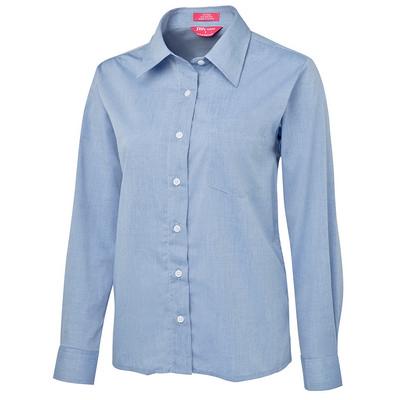 JBs Ladies Original L/S Fine Chambray Shirt (4LSL-06-24_JBS)