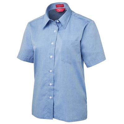 JBs Ladies Original S/S Fine Chambray Shirt  (4LSLS-06-24_JBS)