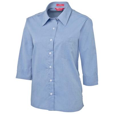 JBs Ladies Original � Fine Chambray Shirt (4LSLT-06-24_JBS)