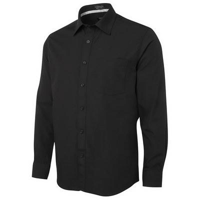 JBs L/S Contrast Placket Shirt (4PCSL-S-5XL_JBS)