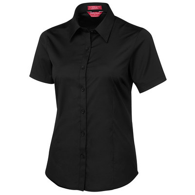 JBs Ladies Urban S/S Poplin Shirt (4PLUS-06-24_JBS)