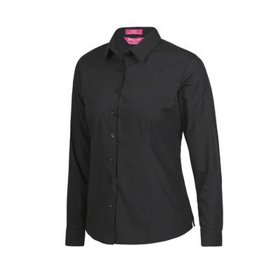JBs Ladies LS Classic Poplin Shirt  (4PS1L_JBS)