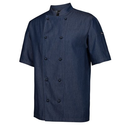 JBs Denim S/S Chefs Jacket  (5CDS-2XS-4XL_JBS)