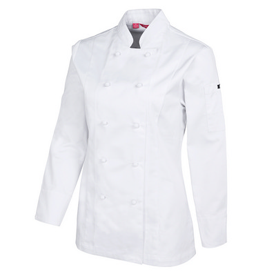 JBs Ladies L/S Vented Chefs Jacket (5CVL1-06-24_JBS)